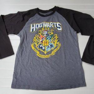Harry Potter Hogwarts Raglan Shirt